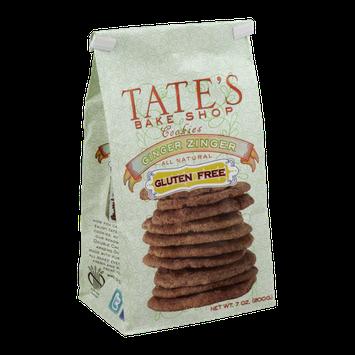Tate's Bake Shop Gluten Free Cookies Ginger Zinger