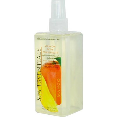 Spa Essentials Spray On Body Moisturizer with Super Fruits