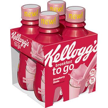 Kellogg's To-Go Strawberry Protein Shake 10 oz 4 ct