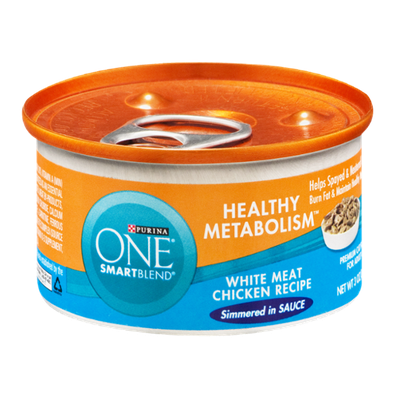 Purina One Smartblend Healthy Metabolism Cat Food White Meat Chicken Recipe