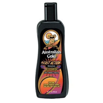Australian Gold Fast Action UV Magnifying Lotion with Tingle Tanning Lotion 8.5 oz.