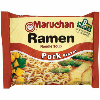 Maruchan Ramen Noodle Soup Pork Flavor
