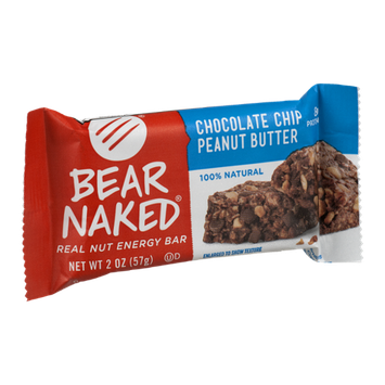 Bear Naked Real Nut Energy Bar Chocolate Chip Peanut Butter