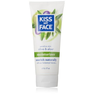 Kiss My Face Natural Moisturizer with Olive Oil and Aloe Vera