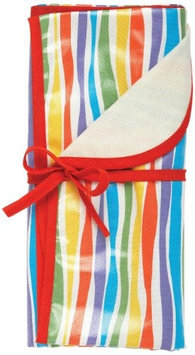 AM PM Kids 84004 Stripes Mini Reversible Blanket