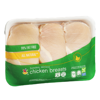 Ahold Chicken Breasts Boneless Skinless