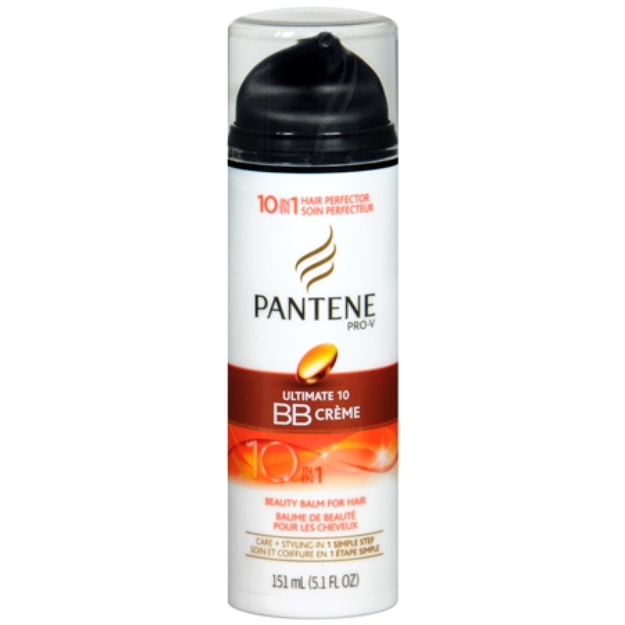 Pantene Pro-V Ultimate 10 BB Creme 10 in 1 Beauty Balm for Hair, 5.1 fl oz