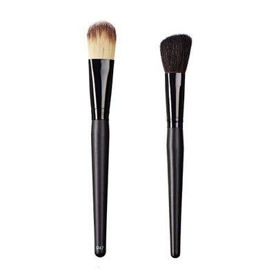 ON&OFF East Meets West Collection Color Lay Down and Slanted Cheek Brush Set