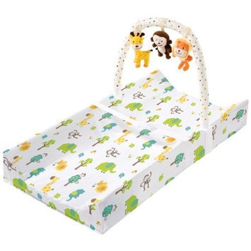 Sumersault Summer Infant Change Pad with Toybar, Safari Fun (Discontinued by Manufacturer)