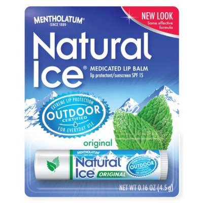 Natural Ice Medicated Lip Protectant/Sunscreen SPF 15