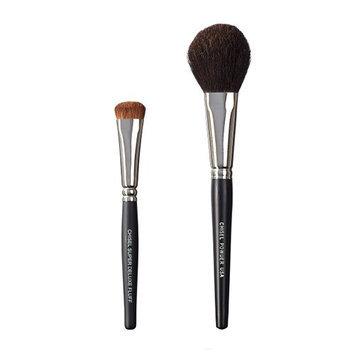 VEGAN LOVE The Chisel Collection Make Up Brush Set (Super Deluxe Fluff Chisel Powder)