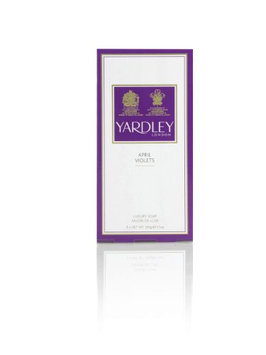 April Violets By Yardley Of London For Women. Perfumed Soap 3 X 3.5 Oz / 100 G