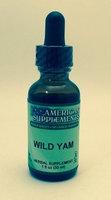 Wild Yam No Chinese Ingredients American Supplements 1 oz Liquid