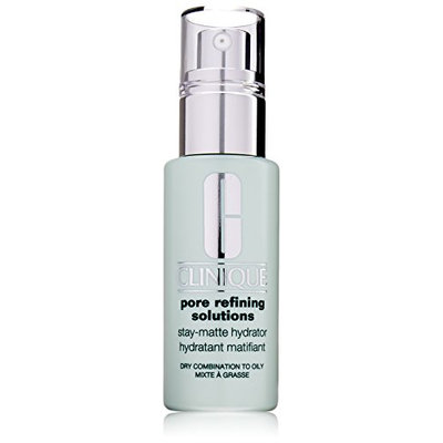 Clinique Pore Refining Solutions Stay-Matte Hydrator Dry Combination To Oily Skin Scrub