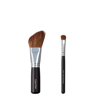 ON&OFF Angled Face and Wet/Dry Shadow Makeup Brush