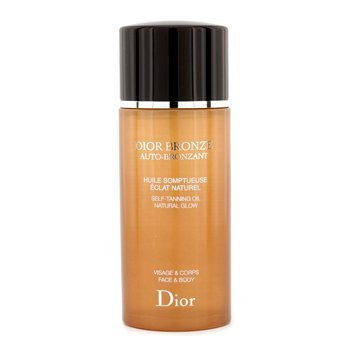 Christian Dior Bronze Natural Glow Face and Body Self Tanning Oil