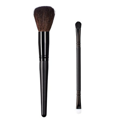ON&OFF East Meets West Collection Domed Powder and Duo Fluff/Conceal Duo Brush Set
