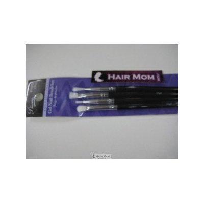 Diane 4-Piece Gel Nail Brush Set (Pack of 12)