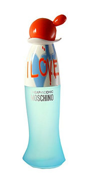 I Love Love Cheap and Chic by Moschino For Women. Eau De Toilette Spray 1.7 Ounces