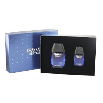 Drakkar Essence For Men 2 Pc. Gift Set ( Eau De Toilette Spray 3.4 Oz & 1.0 Oz ) By Guy Laroche