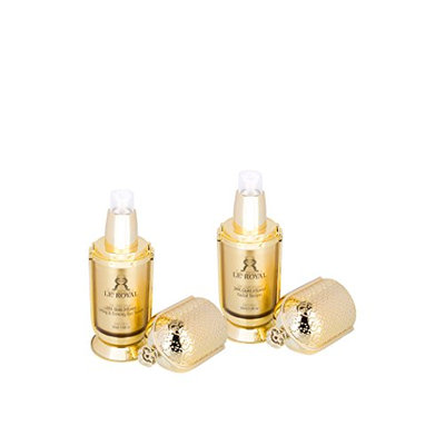 LE' ROYAL 24K Gold Collection Infused Facial Serum & Lifting and Firming Eye Serum