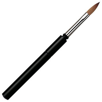 Da Vinci Series 15140 Kolinsky Red Sable Pointed Oval Travel Nail Brush with Protective Case
