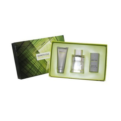 Kenneth Cole Reaction 3 Piece Gift Set for Men (Eau de Toilette Spray Plus After Shave Balm Plus Deodorant Stick)