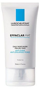 La Roche-Posay Effaclar Mat Oil-Free Facial Moisturizer for Oily Skin to Mattify Skin and Refine Pores