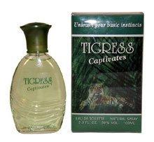 Tigress By Fragrances Of France For Women. Eau De Toilette Spray 3.3-Ounce Bottle