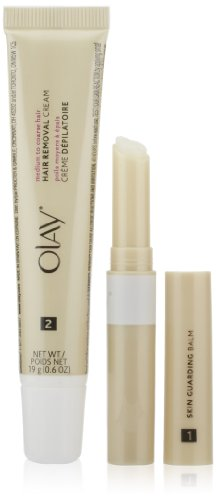 Olay Smooth Finish Facial Hair Removal Duo Medium To Coarse