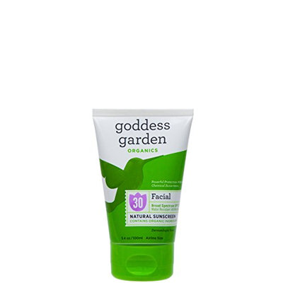 Goddess Garden Facial SPF 30 Natural Sunscreen