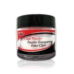 SuperNail French Acrylic Clear Powder