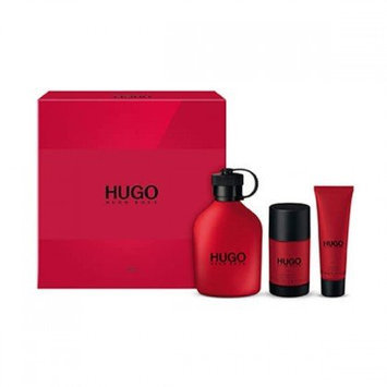 Hugo Boss Red 3 Piece Set for Men