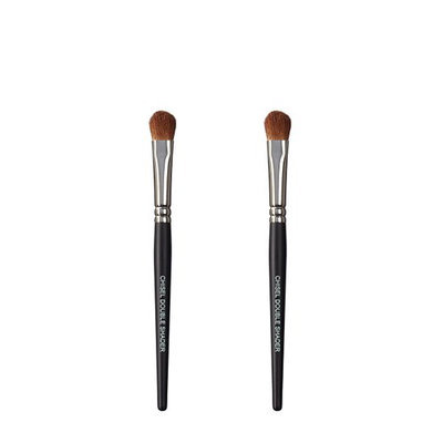 VEGAN LOVE The Chisel Collection Make Up Brush Set (Chisel Double Shader Chisel Double Shader)