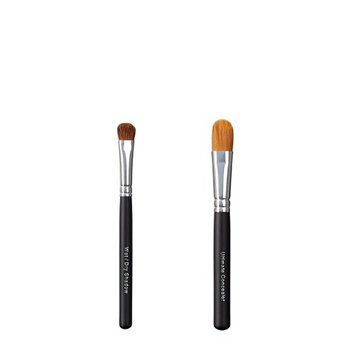 ON&OFF Wet/Dry Shadow and Ultimate Concealer Makeup Brush
