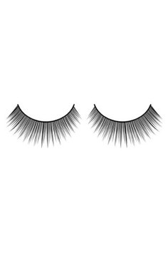 Baci Natural Look Style No.653 Black Premium Eyelashes with Adhesive Included