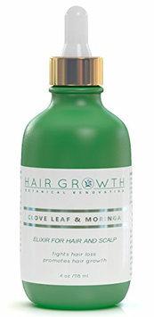 Hair Growth Botanical Renovation Anti-hair Loss Elixir For Scalp and Hair 4 0z / 120 Ml Clove Leaf and Moringa