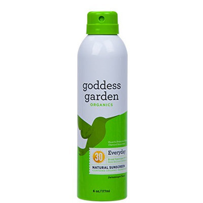 Goddess Garden Sunny Body Natural Sunscreen Continuous SPF 30 Spray