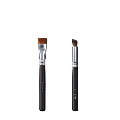 ON&OFF Flat Shader and Slope Makeup Brush