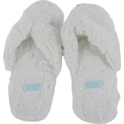 Bath Accessories Shaggy Flip Flops