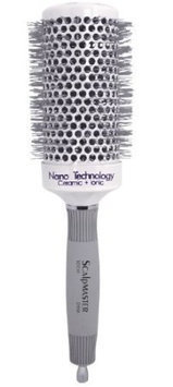 Scalpmaster 2 3/4 Nano Technology Ceramic Plus Ionic Hair Brush