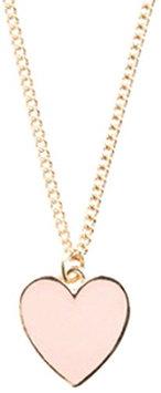 Ban.do Super Cute Heart Necklace Blush