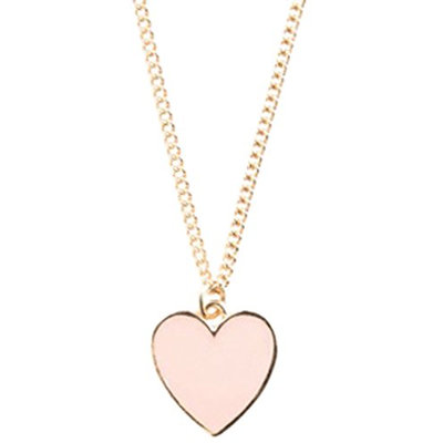 Ban.do Super Cute Heart Necklace Blush