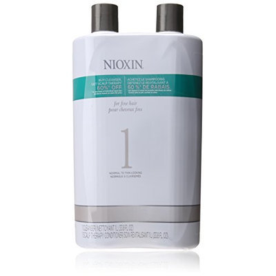 Nioxin System 1 Cleanser and Scalp Therapy Conditioner
