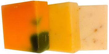 Orange Muslin Bedtime Soap Trio - Premium Artisan Soaps