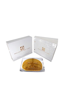 Brilliance New York Gold Anti Aging Face Mask Set 12-Pack Deep Tissue Rejuvenation One Year Supply!