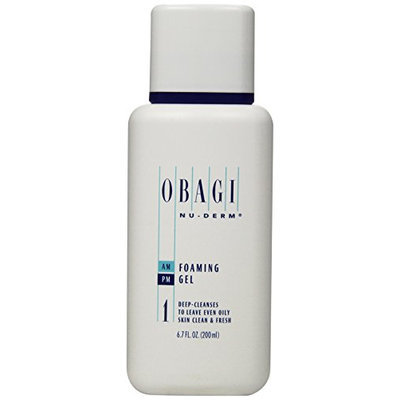 Obagi Medical Nu Derm Foaming Gel Deep Cleanses