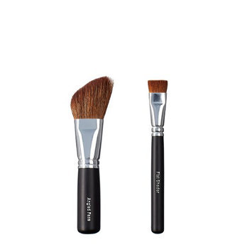 ON&OFF Angled Face and Flat Shader Makeup Brush