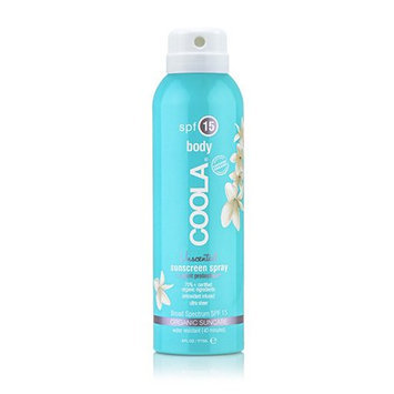 COOLA Body SPF 15 Unscented Sunscreen Spray