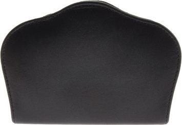 Budd Leather Company Unisex Solingen Chrome 6 Piece Scalloped Manicure Set